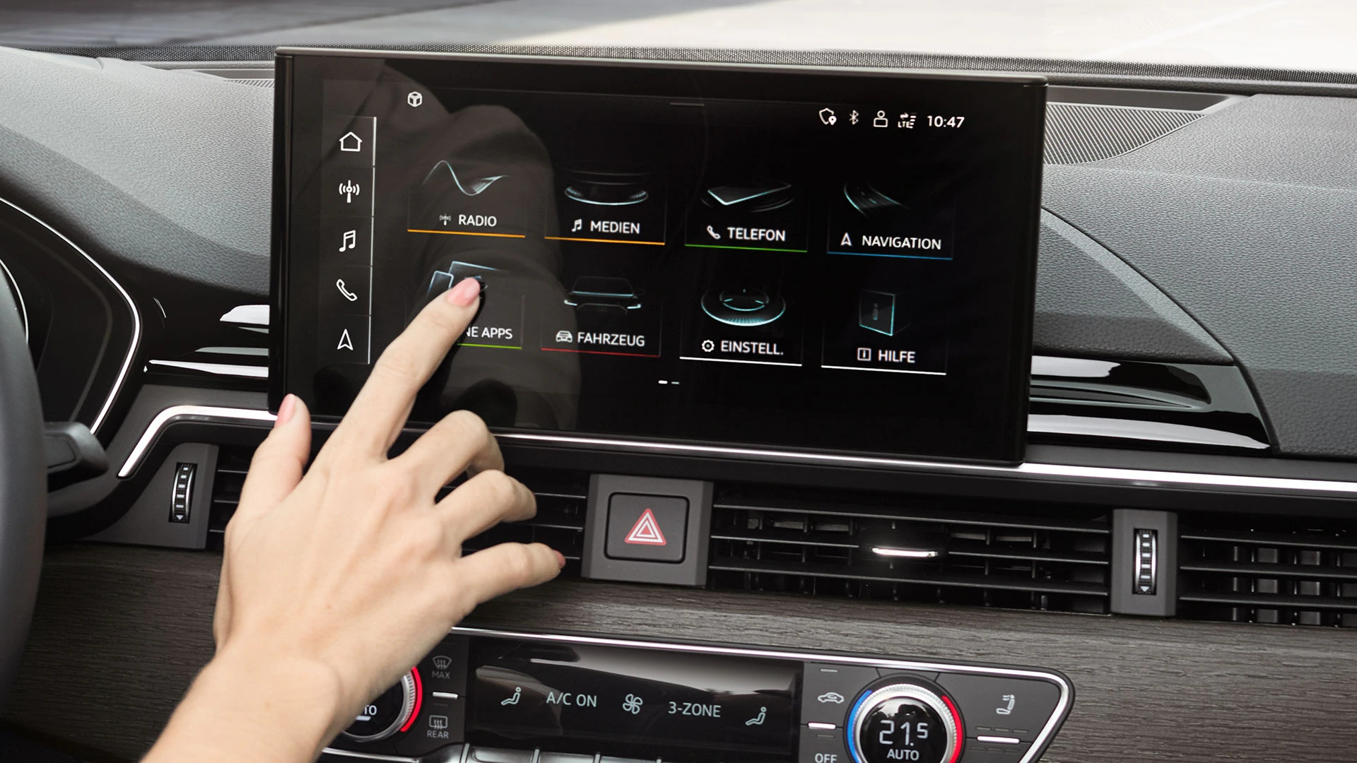Display im Audi A5 Sportback 2020
